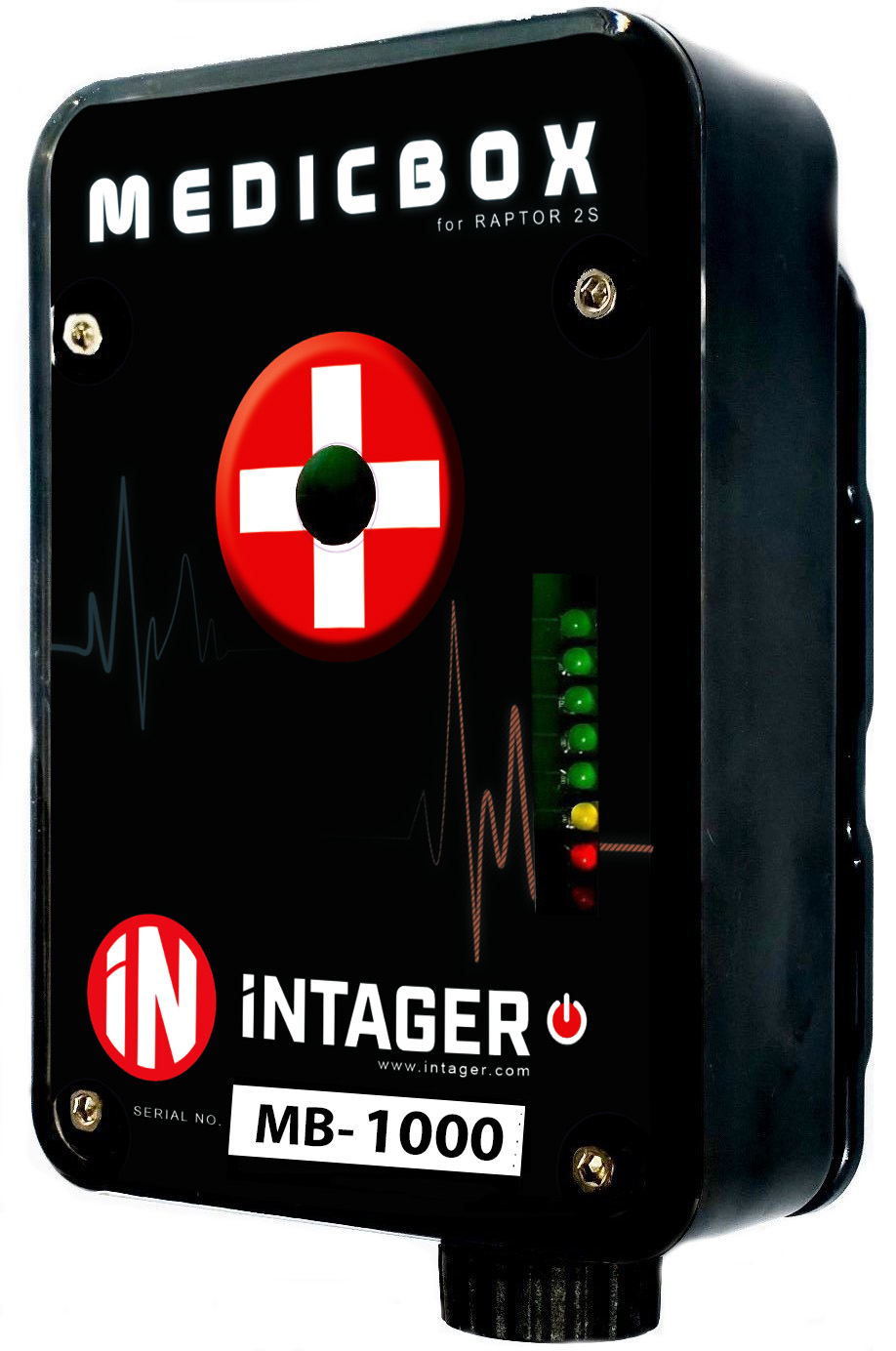 Intager Medic box for an easier laser tag game