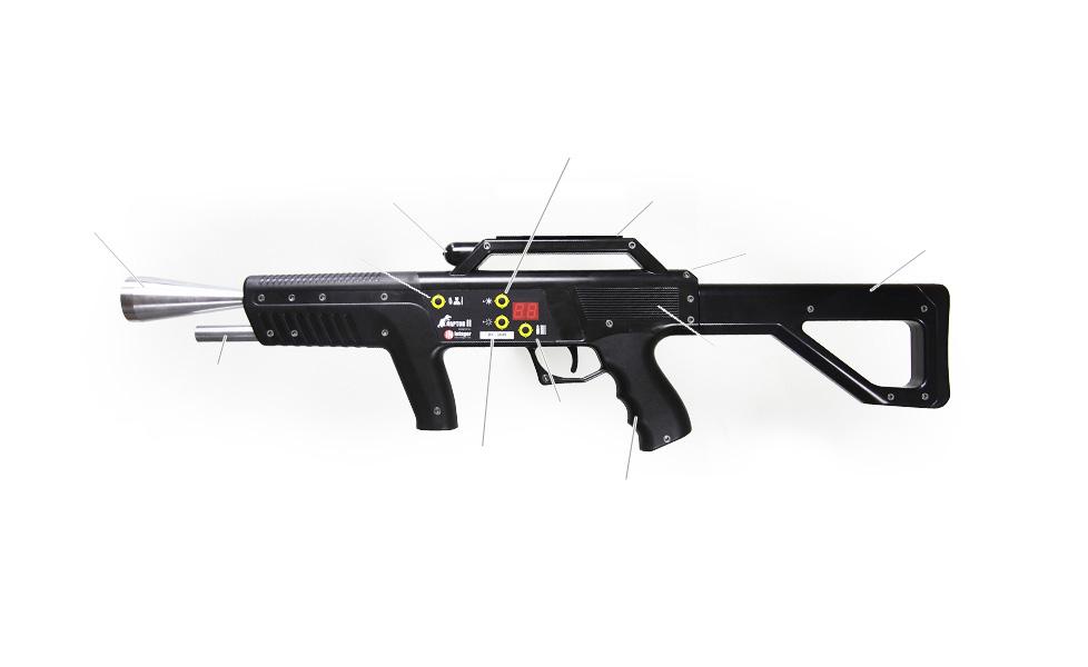 Intager lézer puska