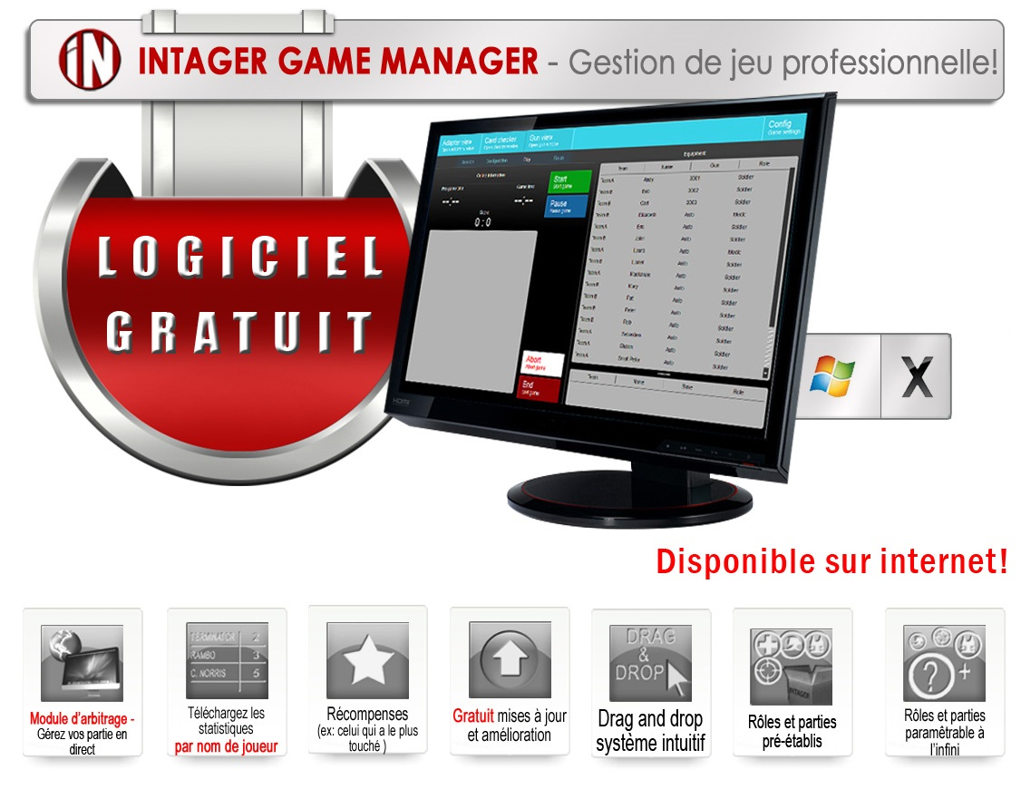 Intager Game Manager