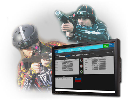 Manage laser games with IGM