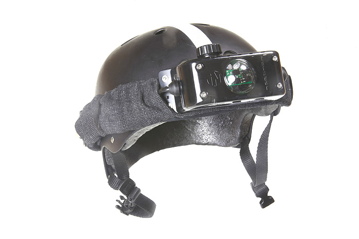 Laser tag headset